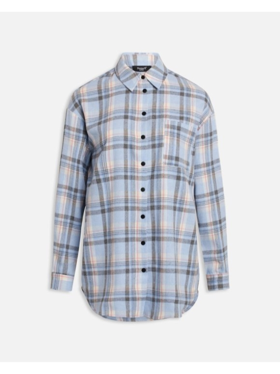 Ellie shirt 1 Blue Check