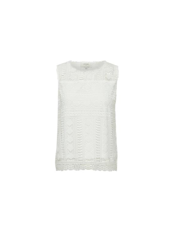 Madina CR top,offwhite