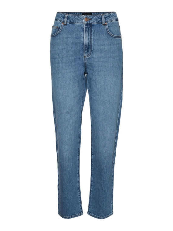 Carla HR Bukse Medium Blue Denim