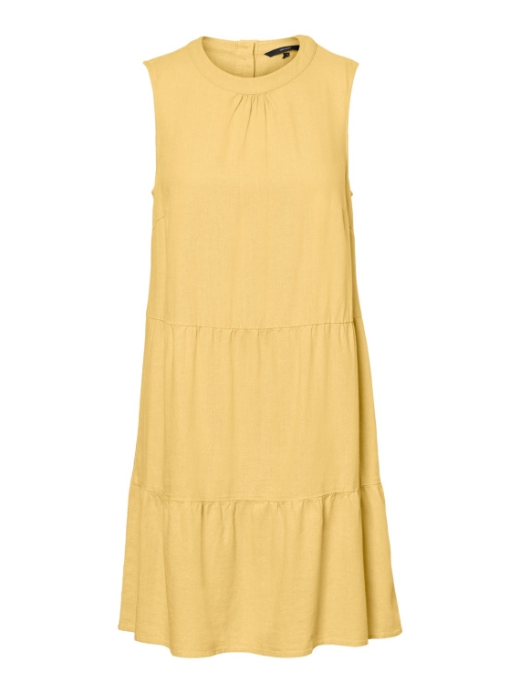 Helenmilo dress,banana cream