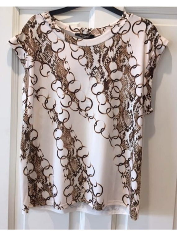 Low 246 Cream,Snake,Chain