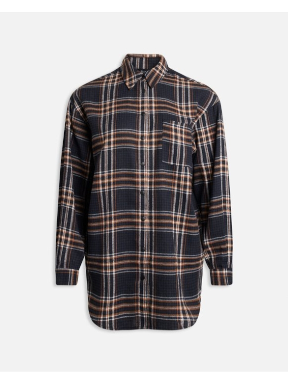Ellie shirt 1 Navy check
