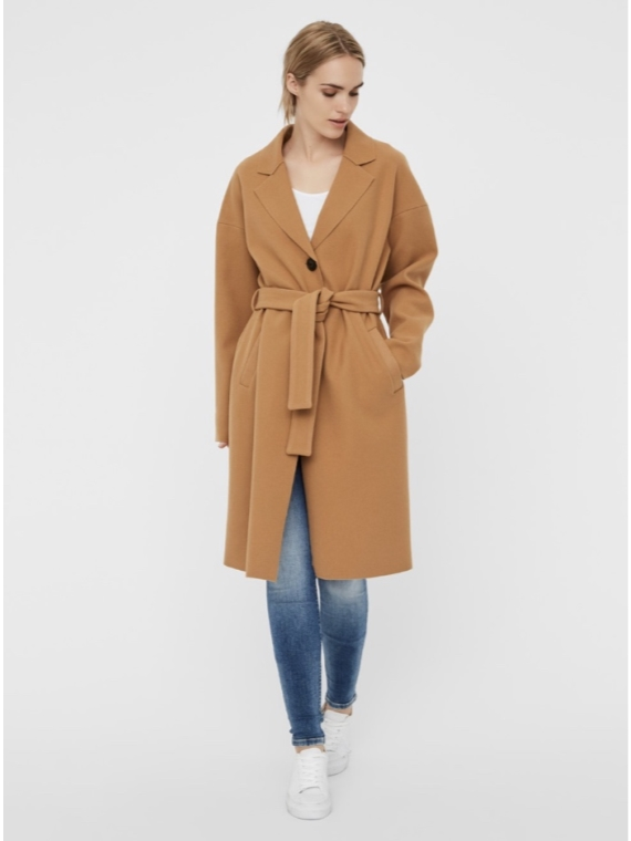 Online Long Jacket Camel