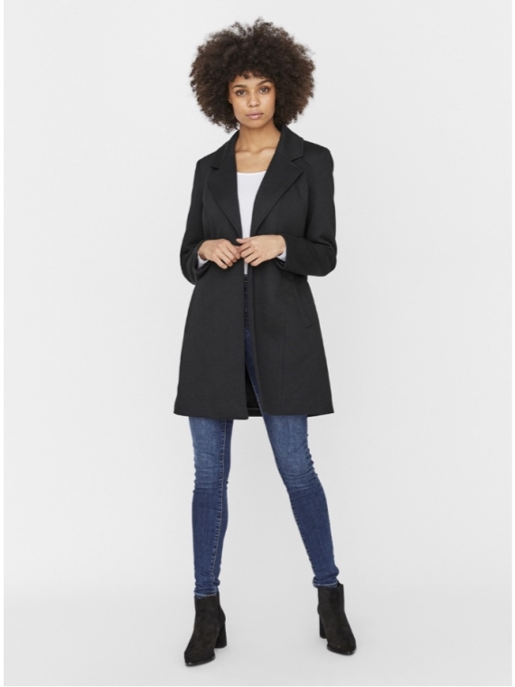 Verodona trenchcoat Black