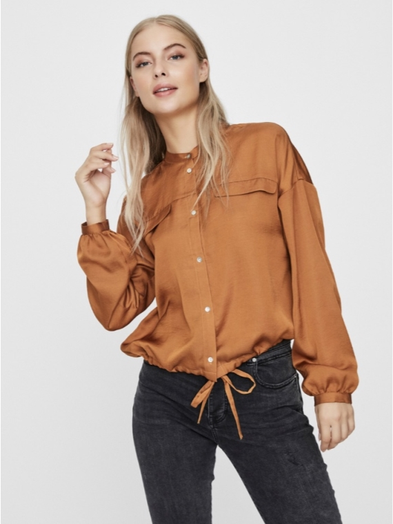Anny Long sleeve shirt Rust