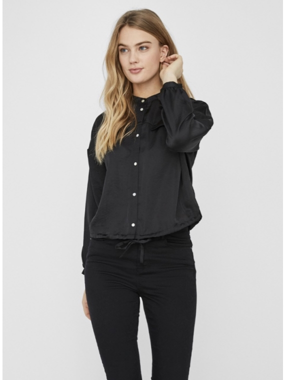 Anny Long sleeve shirt Black
