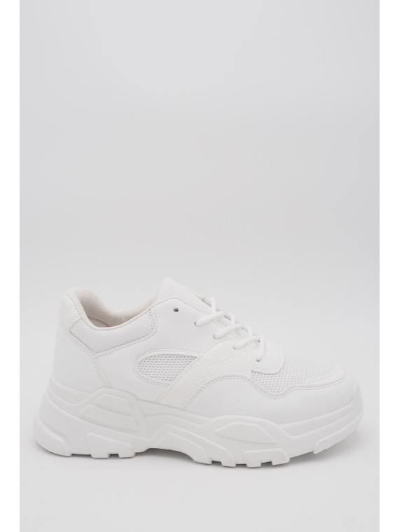 55-68 White Sneakers