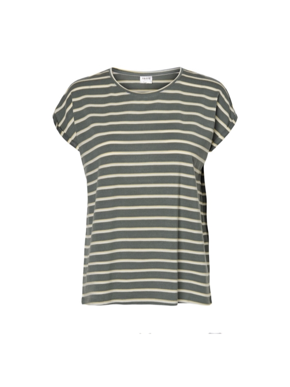 Ava Kathy stripe,Laurel Wreath