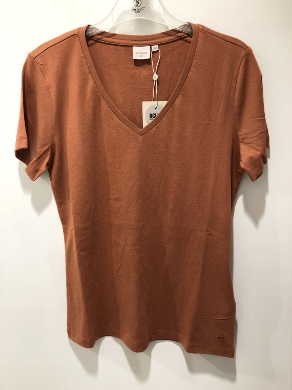 Naia t-shirt,rust