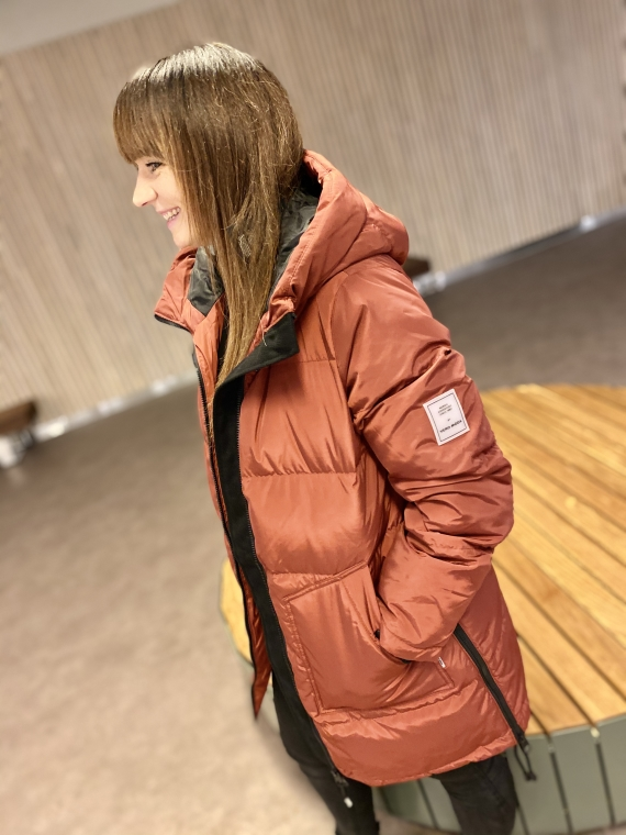 Oslo down jacket,madder brown
