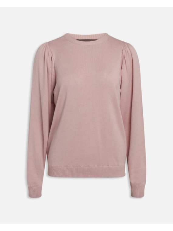 Helly LS Knit Dusty Rose