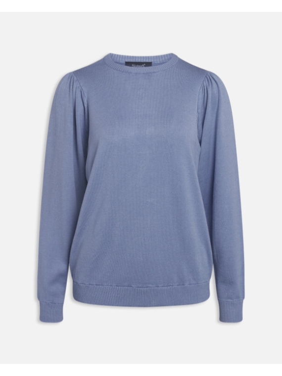 Helly LS Knit Blue Cloud